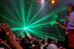 clubbing under the laser show (AtillaSoylu) Tags: party toronto d50 fun nikon dancing weekend nightclub nightlife partypics gta lasershow phun partypix clubculture turkish 416 atilla 3195 soylu 35mmf2af nikonstunninggallery guverntment clubbingontheweekend now200703