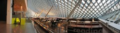 Seattle Public Library (OZinOH) Tags: seattle panorama library stitching seattlepubliclibrary washingtonstate publiclibrary aia150 ll100