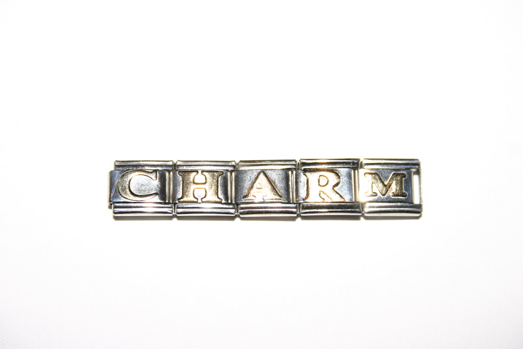 ITALIAN CHARMS GOLD PLATED LETTER CHARMS