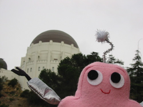Pink Craftie at the Observatory!