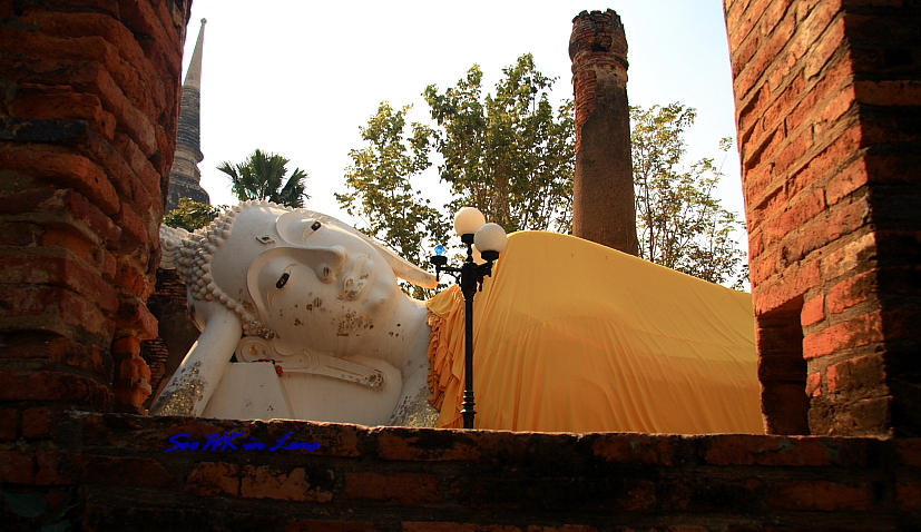 Reclining Buddha of @ Wat Yai Chaimongkol
