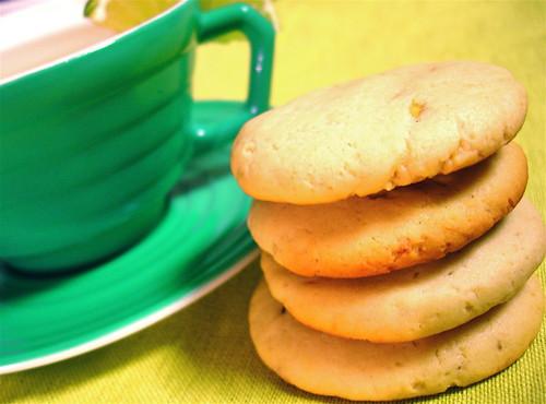 Avocado Lime Tea Cookies