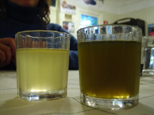 2 digestivi - nespolino and alloro