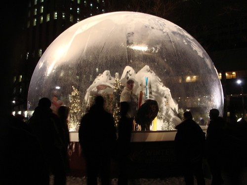 World's Biggest Snowglobe 2