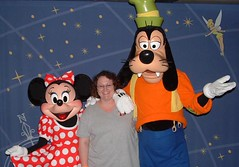 Me with Minnie and Goofy