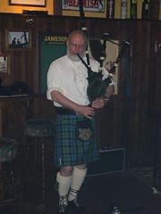 Burns' Night Piper (Thomas Ormston) Tags: night private scotland kilt scottish celebration burns haggis meal poet bagpiper tartan bagpipe