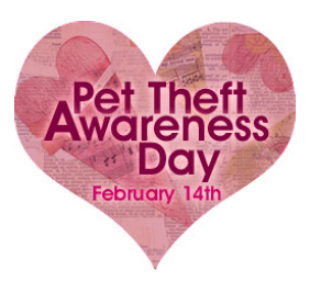 LCA - National Pet Theft Awareness Day, 2001 (Heart)