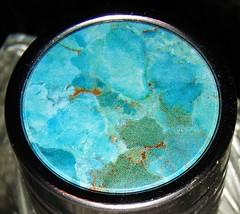Pure Turquoise (Tiffibunny) Tags: blue lauren green glass bottle perfume turquoise cap expensive ralphlauren parfum