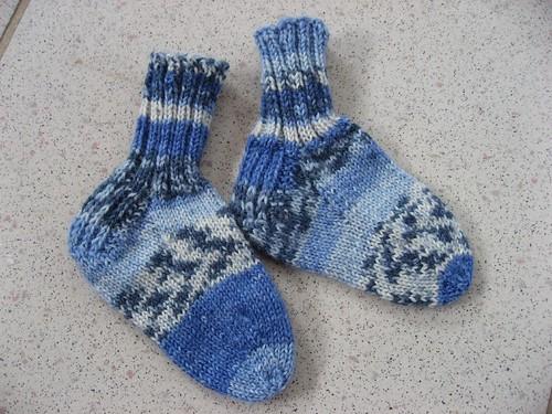 Tiny miniature socks