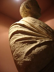 Roman statues in Amasra on the Black Sea coast of Turkey
