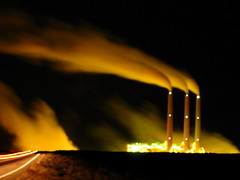 Navajo power plant (bass_nroll) Tags: usa plant west night canon long power explorer explore exposition pollution page navajo g7 interestingness489 i500 explorefeb62007489 explorerfeb62007489 mcb1609