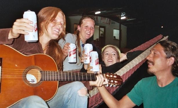 Drinking in Santa Elena