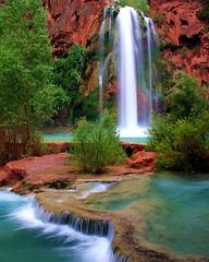 Havasu Falls (Forget Me Knott Photography) Tags: park arizona water creek river waterfall stream native indian grand canyon falls nativeamerican national american havasu reservation supai havasupai abigfave fccphotochallenge prstolen fccwinner brianknott forgetmeknottphotography fmkphoto