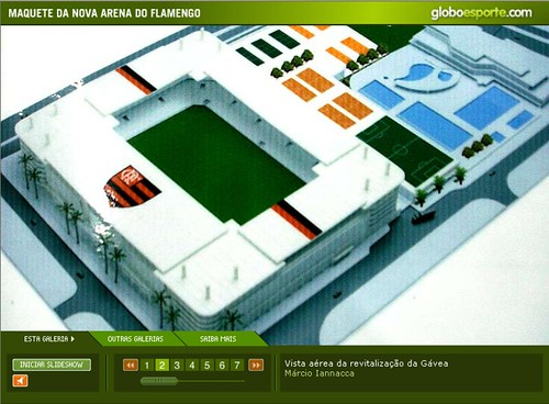 Maquete da Arena da Gávea, Estádio do Flamengo 1