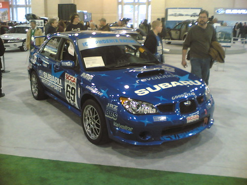 Subaru Wrx Sti Rally Car. Subaru WRX STi Rally Car. - Taken at 4:27 PM on February 10, 2007 - cameraphone upload by ShoZu