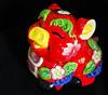 Groovy Pig (NowJustNic) Tags: china home catchycolors ceramic pig nikon chinesenewyear newyear 中国 piggybank 春节 tianjin lunarnewyear 新年 springfestival 天津 瓷器 猪 yearofthepig haidiandistrict d80 nikkor18135mm dongwangzhuang ceramicsiown