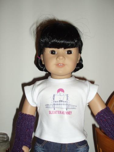 Inky's Sleater-Kinney Shirt