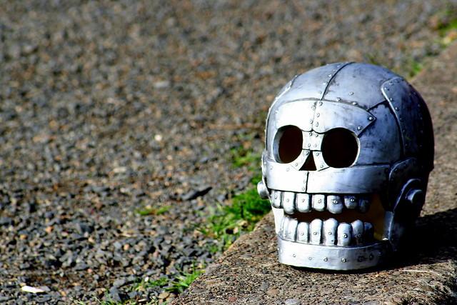 Skull, Retouch