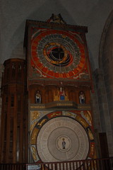 Astrological Clock inside Cathedral