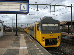 Wadloper(Fietser)trein (giedje2200loc) Tags: railroad dutch train ns trains commuter railways railfan bnsf trein spoorwegen csx treinen railfanning wadloper veolia