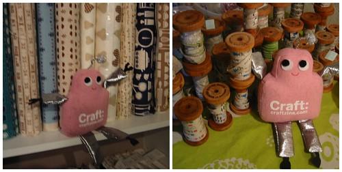 Pink Craftie visits Superbuzzy HQ