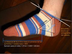 Cuchillo del calcetin