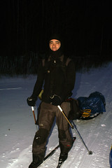 PICT1931B (Smiley Man) Tags: winter mountain skiing mountaineering sleds katahdin pulk baxterstatepark alpinist bcskiing