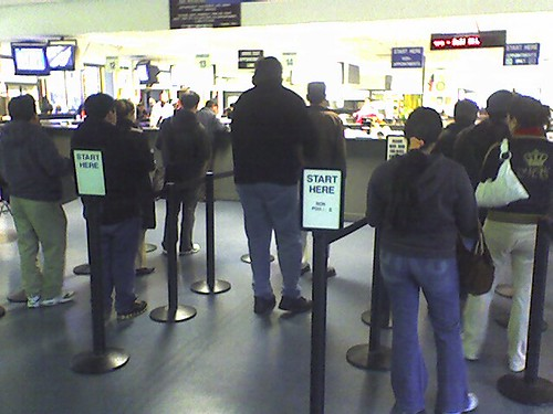 The DMV on my birthday