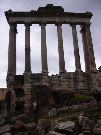 The Temple of Saturn