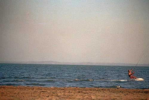 el día en la playa