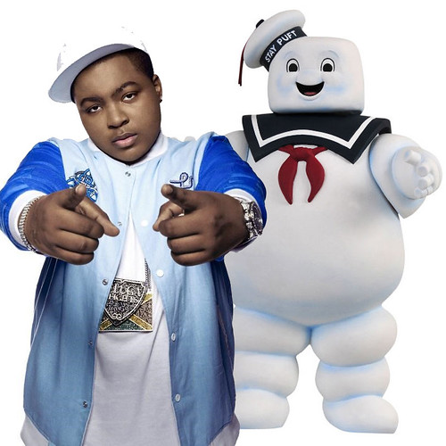 Sean Kingston is the Stay Puft Marshmallow Man