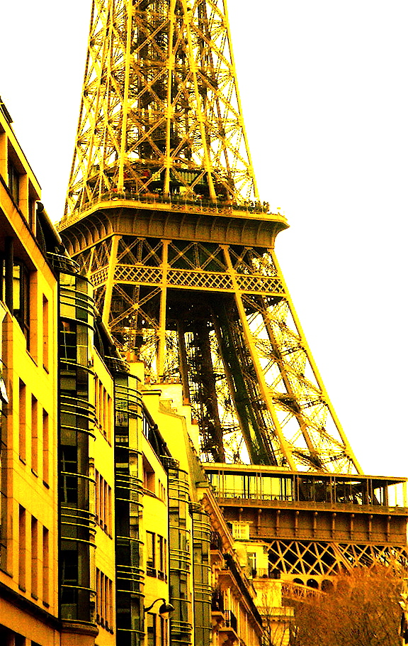 Yellow Eiffel