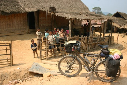 Village scene...