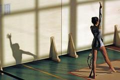 Alone with my shadow (ssq oln qp giulio bassi) Tags: shadow girl sport angel nice ombra 100views angelo gymnastic ragazza ginnastica interphoto giuliobassi globalvillage2