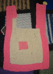 MDK Inspired Log Cabin Baby Bib