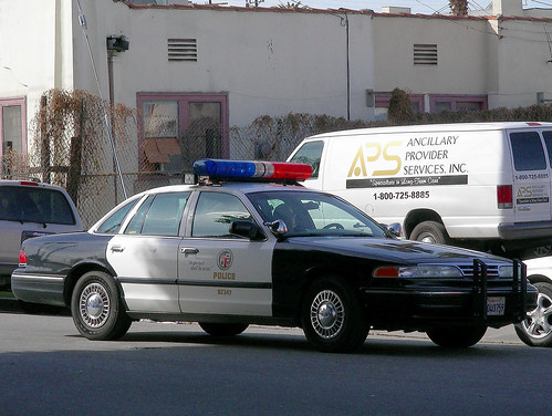 Lapd Crown Victoria A Photo On Flickriver