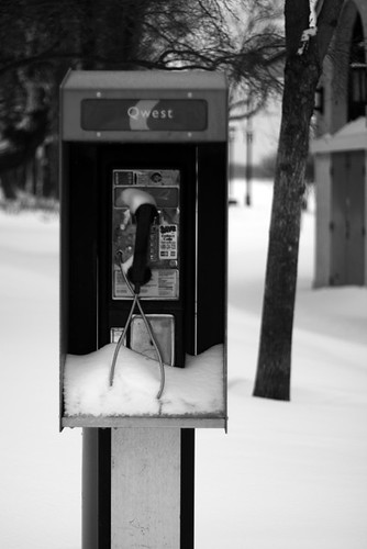 Pay Phone BW 0625