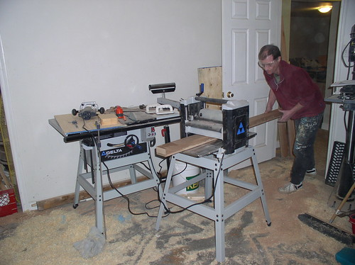 Planing base molding