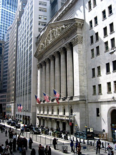 New York Stock Exchange by Helico.
