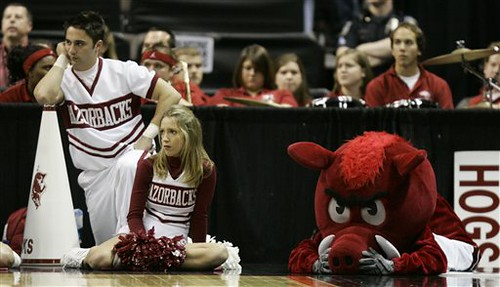 Arkansas Cheerleaders (AP Photo/Ted S. Warren)
