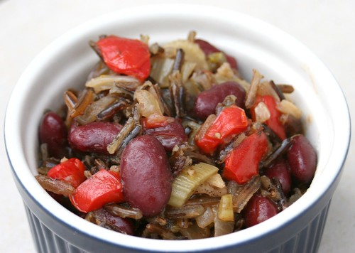 Vegetarian Red Beans And Wild Rice