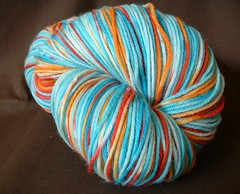 Kook Aid Dyed Yarn