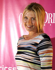 Maria Sharapova - Sony Ericsson Player Party