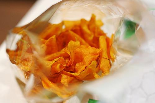 sweet tato chips