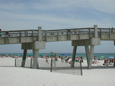 Pensacola Beach crowded...