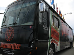 Jagermeister tour bus