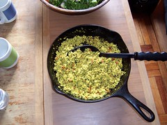 herb-tofu scramble by Jason D!
