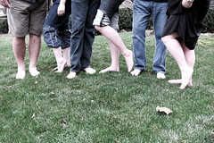 Barefoot - barefeet in the park (roujo) Tags: park feet grass bare barefootinthepark