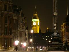 Big Ben (Ellyll) Tags: london clock night 33 trafalgar bigben february nos chwefror llundain cloc tafalgarsquare 20070220 sgwrtrafalgar