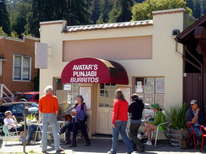 Avatar's Punjabi Burritos